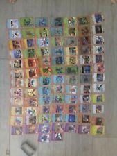 lot de 121 cartes panini invizimals nouvelle alliance 86 differentes, holo ,3d..