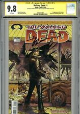 Walking Dead 1 CGC 9.8 SS X2 1st print Robert Kirkman Tony Moore AMC Zombies 2 3