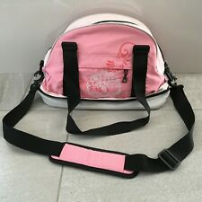 TIMBERLAND Pink Weekend Duffle Bag Detachable Shoulder Strap Zipper Closure