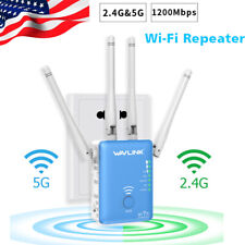 Wavlink AC1200 WIFI Repeater,2.4G&5G 1200mbps Router& Wireless Range Extender