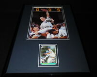 David Cone Signed Framed 11x17 Photo Display Yankees Perfect Game