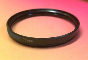 72mm-72mm EXTENSION RING ADAPTER 8mm depth, 72-72mm BLACK METAL(from CPL Filter)