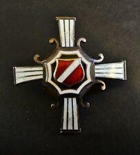"Latvia Military Badge Medal ,Latvian Riflemen Regiment ""Troicka"" Strelnieki Rare"