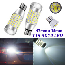 Premium T10 T15 921 168 194 2825 Reverse Backup Light 6000K 87 Canbus LED A1 A