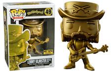 Funko Pop! Lemmy Kilmister (Golden Statue, Motörhead) 49 - Hot Topic Exclusive [