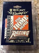 VINTAGE TONY STEWART #20 THE HOME DEPOT RACING NASCAR COLLECTIBLE TEAM PIN L@@K