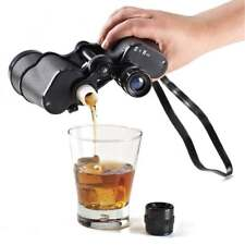 Hidden Flasks Secret Liquor Binocular Flask Sneak Alcohol Drinking Flasks Double
