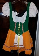 Cinema Secrets Costume  Halloween Beer German Bar Maid M Womens Oktoberfest