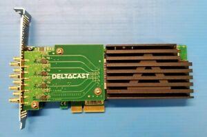 DeltaCast DELTA-asi-elp-d 8C 8-channel configurable input or output ASI card