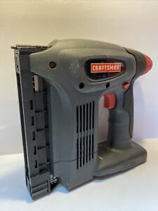 Craftsman C3 19.2v Cordless Nailer/Stapler Gun RARE (315.115120) Tool Only