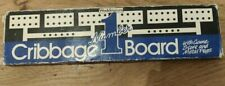 Waddingtons - Wooden Cribbage Board - With Pegs - Number 1