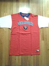 NWT Ceska Republika Embroidered T-Shirt (Red & Blue), XL (S-T-60)
