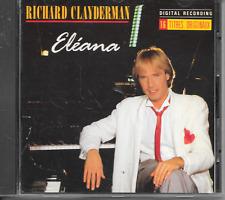 RICHARD CLAYDERMAN - Eleana CD Album 16TR France 1987 (Delphine) Easy Listening