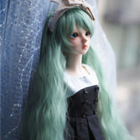 1/3 1/4 1/6 Bjd Doll Long Wig Green Hair For Dollfie SD LUTS AOD