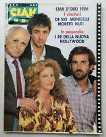 CIAK n° 6 - 1986 DE SIO Monicelli NUTI Moretti RICHARD GERE