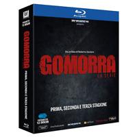 STV *** GOMORRA - Stagioni 1-3 (12 Blu-ray) *** sigillato