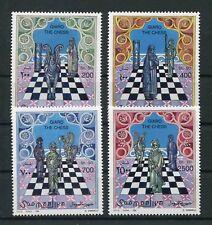 Somalia 615/18 postfrisch / Schach ...................................... 2/1405