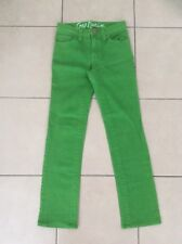 < N w/o T >    GAP     Girl's    Denim Jeans     Green     Size 150