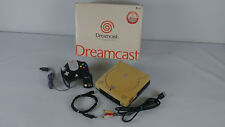 Console Sega Dreamcast region free moddée en boite