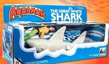 AQUAMAN VS THE GREAT WHITE SHARK; 8 INCH MEGO STYLE PLAYSET
