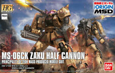 Bandai Hobby Gundam The Origin Zaku I Half Cannon HG 1/144 Model Kit USA Seller