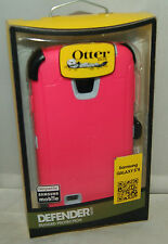 New! Otterbox Defender Series Case and Belt Clip for Samsung Galaxy S4 Pink