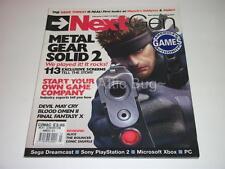 NextGen~Lifecycle 2 Vol.3 #3~USA / American Magazine~Metal Gear Solid 2 Cover