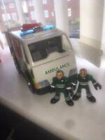 Imaginext Fire Engine & Ambulance