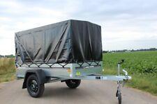 Viking Trailer Tiefladerkastenanhänger 750kg Plane Spriegel Automatic Stützrad