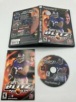 Sony PlayStation 2 PS2 CIB Complete Tested NFL Blitz 2003 Ships Fast