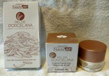 3Pc Set Arabela Natural Skin Piel de Porcelana Cuidado Facial con Polvo de Arroz