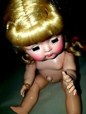 Vintage Hard Plastic Doll Yes/No Buttons