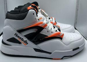 Reebok Pump Omni Zone II - Dee Brown White Orange Black  G57540 MENS SIZE 7.5