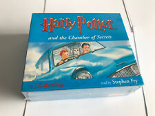 Harry Potter and The Chamber of Secrets 8x CD Audio Book by Stephen Fry - C45