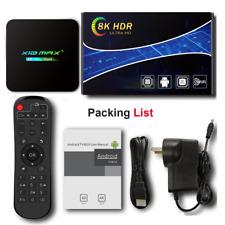 X10 MAX PLUS Android 9.0 8K TV Box Dual WiFi Bluetooth Amlogic Media Player