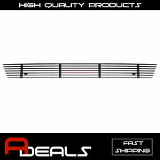 FOR FORD F-150 2006 2007 2008 BLACK BUMPER BILLET GRILLE INSERT bolt on