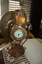 Ornate Vintage Richard Ward Mantel Counter Clock