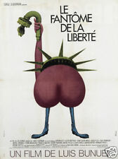 Le fantome de la liberte Luis Bunuel movie poster print