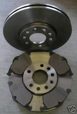 SAAB 900 2.0 2.3 2.5 FRONT BRAKE DISCS AND PADS 1996-1998 NEXT DAY DELIVERY