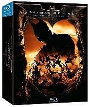 Batman Begins (Blu-ray Disc, 2008, Limited Edition Giftset)