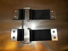 SUZUKI SAMURAI REMOVABLE DOOR CHECK STRAPS QUICK RELEASE ALL YEARS