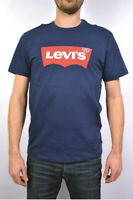 New! levi's Batwing T-Shirt Dress Blue Dark Blue Size Large Men's