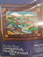 Something Special ~ Longstitch Needlepoint Kit Village Scene new unopened 30231
