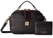 *NWT* Dooney & Bourke  Belvedere Ambler BBELV0887 BLBL  Black Crossbody Handbag