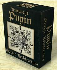 AUGUSTUS PUGIN - GOTHIC ARCHITECTURE 24 Vintage Books + 464 images on DVD-Rom