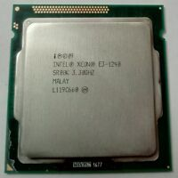 CPU Intel Xeon Prozessor E3-1240 Quad Core @ 3,3 Ghz SR00K Socket 1155