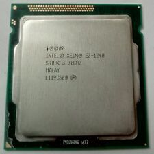 CPU procesador Intel Xeon e3-1240 Quad Core @ 3,3 GHz sr00k socket 1155