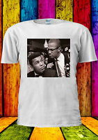 Malcolm X And Ali Meet Muslim Brother T-shirt Vest Tank Top Men Women Unisex 430