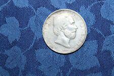 König Willem III. 1 Gulden 1864 Niederlande Netherlands Silber Silver RAR!!