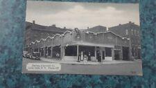 Vtg 1930'S Darling Chevrolet Dealer Tydol Gas Station Postcard Little Falls Ny